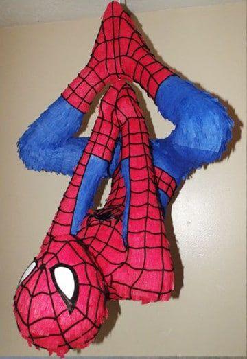 piñatas del hombre araña de cabeza