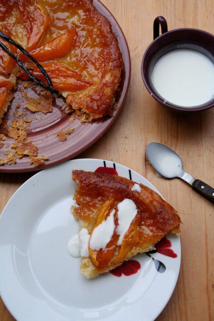 160 best recettes de jamie oliver images on pinterest jamie mango tarte tatin with coconut cream ccuart Gallery