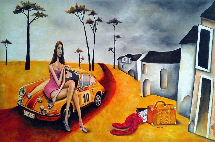 """:Tina"""" Oil/Canvas"""