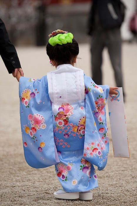Japan, traditional dress, child
