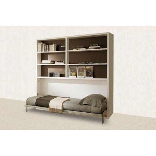 Минимализм уже давно вошел в моду в дизайне интерьера. Откидная горизонтальная кровать модели Alpha, совмещенная с вместительным шкафом — это подходящий вариант для экономии пространства.  Мягкое и комфортное спальное место в любой момент можно спрятать в шкафу, освободим тем самым пару квадратных метров. А большой шкаф, включающий в себя шесть полок, поместит всё, что необходимо.