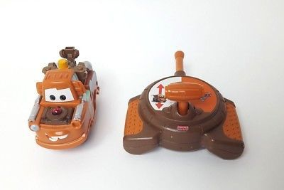 Disney GEOTRAX Fisher Price TOW MATER RC Remote Control Toy Cars Works