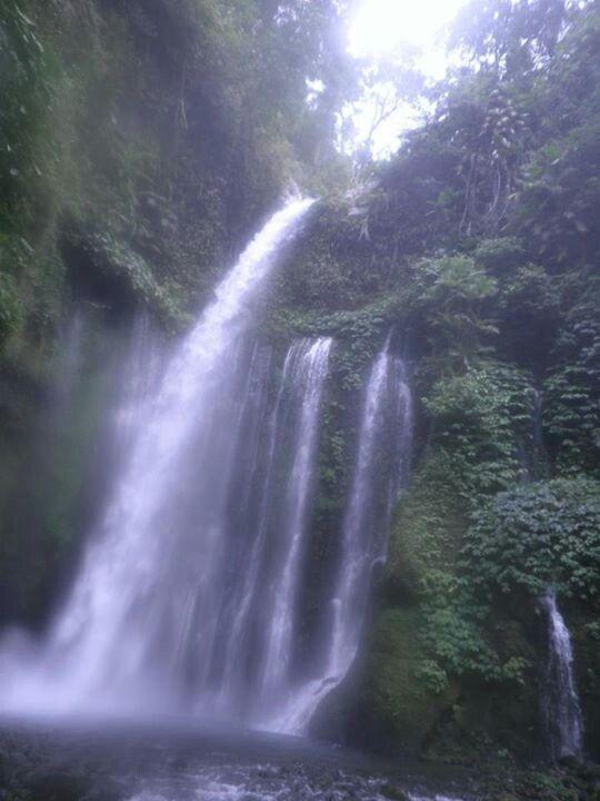 Sendang Gila Waterfall, Lombok