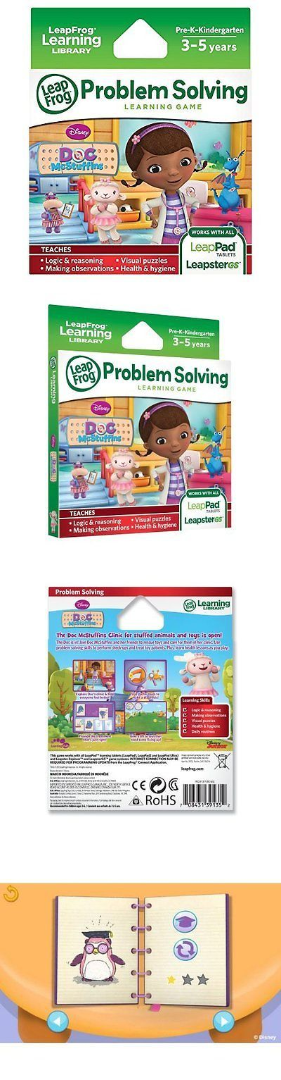 Game Cartridges and Game Books 177916: Leapfrog Disney Doc Mcstuffins Learning Game For Leapfrog Epic, Leappad Leappad -> BUY IT NOW ONLY: $30.76 on eBay!