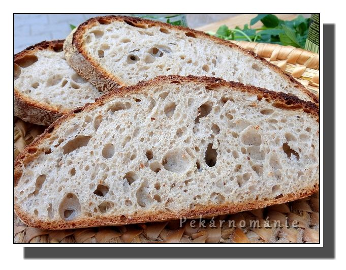 Chleba z naší vesnice