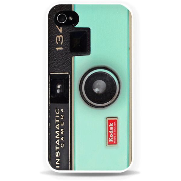 Camera iPhone Case / Mint Green iPhone 6 Case Pastel iPhone 5 Case... found on Polyvore