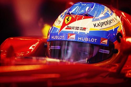Fernando Alonso Helmet