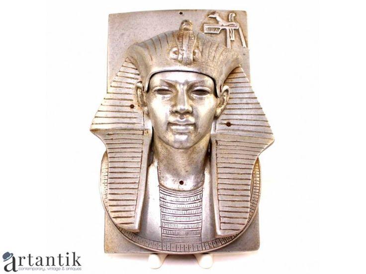 Panoplie Art Deco Egyptian Revival - Faraon - aliaj britannium