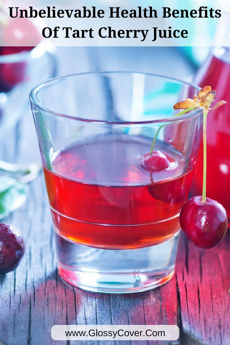 Here is why you should drink tart cherry juice.  The health benefits are unbelievable and can be found at your local supermarket