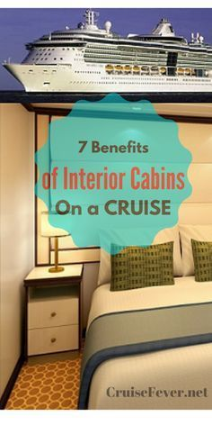 I never thought of the benefits of an inside #cruise cabin.  Great tips!  Request a quote for your next vacation from Destinations in Florida at  http://destinationsinflorida.com/pinterest
