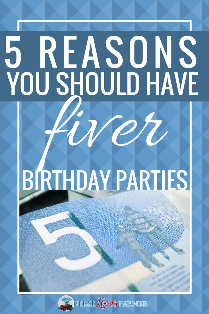 """Birthday parties can get SO expensive to send your kids to! Have you ever considered hosting a """"fiver"""" birthday party? Here's what it is and 5 reasons you should have one!"""