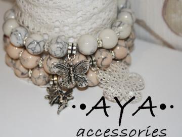 "A set of bracelets "" Fairy Tale"" by AYASHOP for $42.00"