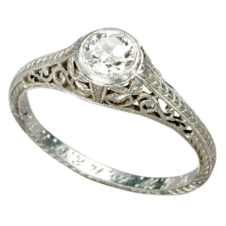 vintage wedding rings 1920 25 best ideas about 1920s engagement ring on 8331