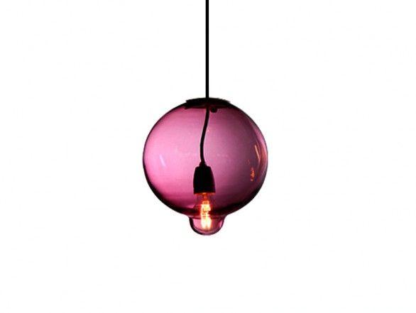 Cappellini Meltdown Lamp - Single Bowl - amethyst