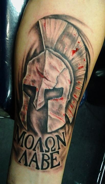 Come and take them tattoo designs related pictures molon for Where do tattoos come from