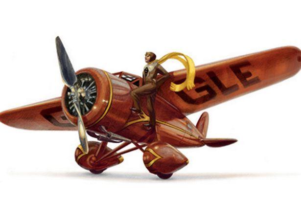 Amelia Earhart: First woman to fly solo across Atlantic honoured ...