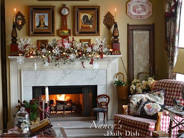 Nancy's Daily Dish: Christmas Home Tour 2014