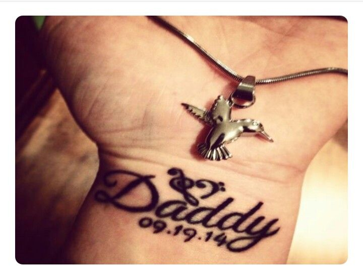 49 best images about tattoos on pinterest my dad wing for Rip tattoos on wrist