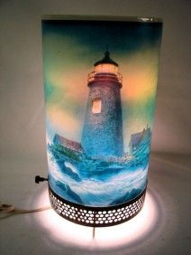 Econolite motion lighthouse lamp