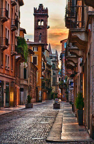 Город Ромео и Джульетты. #Верона #Италия #Verona #Italy