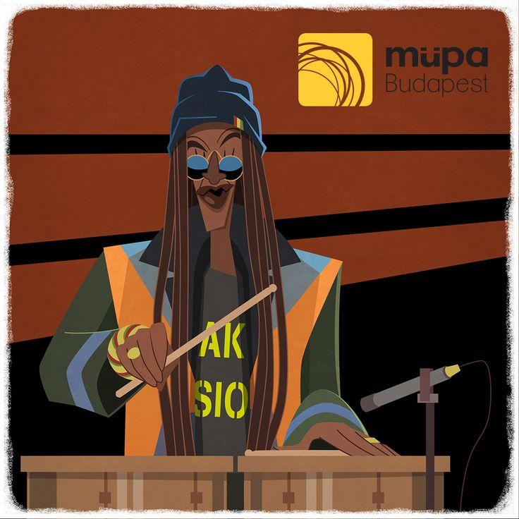 Based upon this performance: https://www.mupa.hu/en/program/cheikh-lo-2015-10-25_20-00-bela-bartok-national-concert-hall Az előadás, amely alapján a rajz készült: https://www.mupa.hu/program/cheikh-lo-2015-10-25_20-00-bbnh Video: https://www.facebook.com/MupaBudapest/videos/vl.174838212850904/10153185703921129/?type=1&theater Kép/Photo: https://www.facebook.com/MupaBudapest/photos/a.10153181227831129.1073741892.62406706128/10153181560236129/?type=3&theat #rethinkmusic #womex15 #womex2015