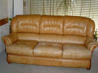 Δερμάτινος καναπές | MeaColpa