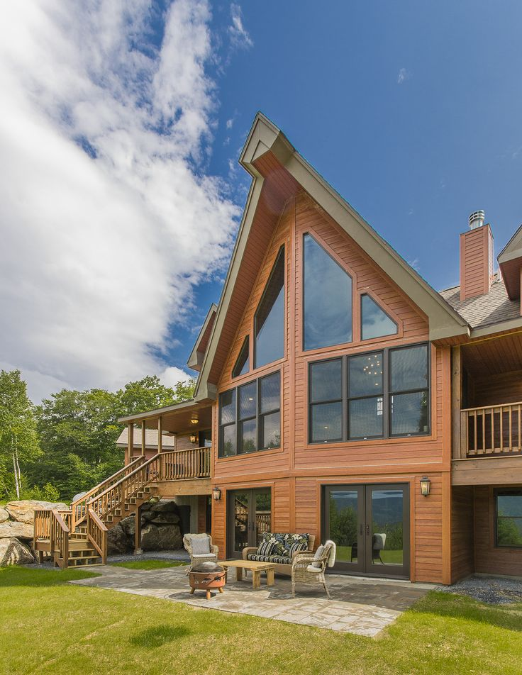 17 best images about killington cabin on pinterest for Chalet modular homes