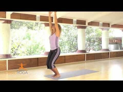Clase de Yoga en Español 45 min para bajar de peso.   Namaste.