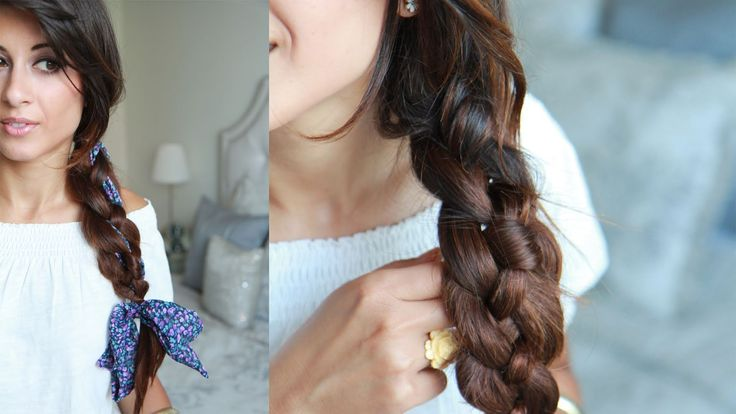 How To: Four (4) Strand Braid Hairstyle (+playlist)