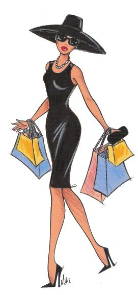 Illustration - Diva-Shopping