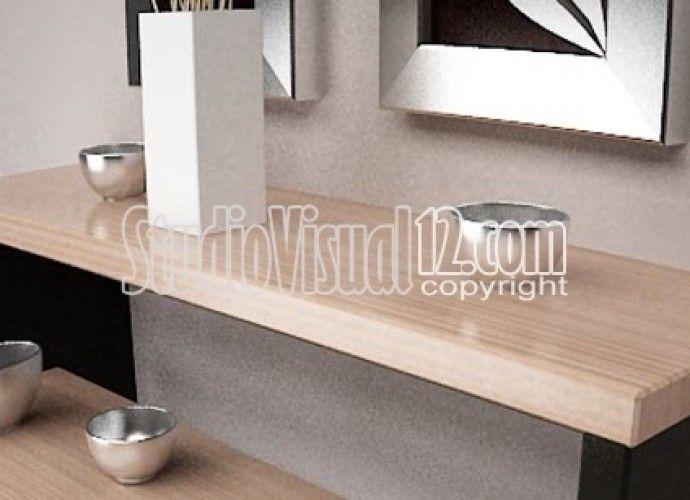 Desain Meja Console dan Penataan Untuk Rumah Minimalis
