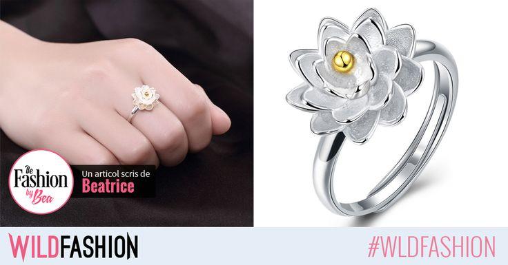 Chic, tineresc si primavaratic, acest inel iti completeaza orice tinuta de sezon! Like & Share unei prietene careia ii plac florile!