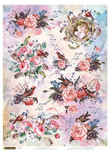 Papier de riz pour decoupage. Les oiseaux et les roses. F... https://www.amazon.fr/dp/B01N7XDGPU/ref=cm_sw_r_pi_dp_x_PnZSybJRGS5QN