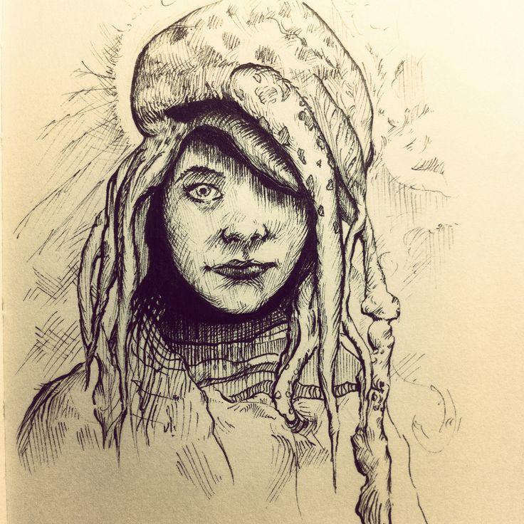 Jelly Lady! https://www.artstation.com/artist/xander