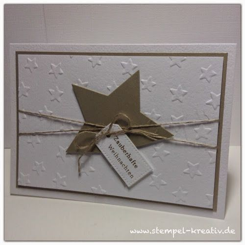 Kreativ Karten gestalten: Zauberhafte Weihnachten ...