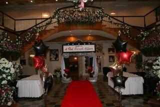 prom entrance