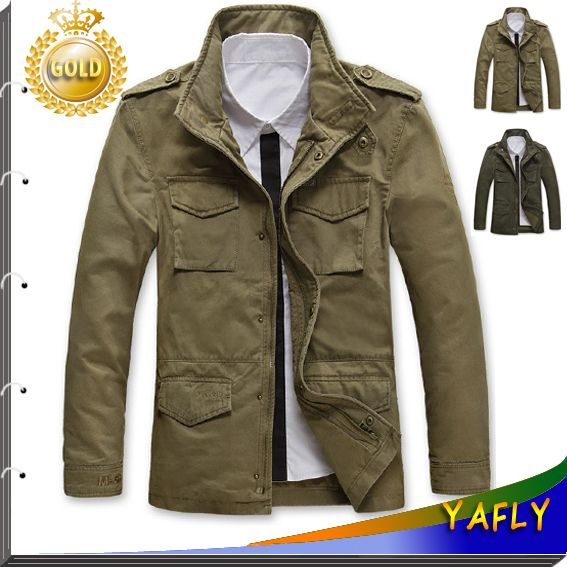 Cheap jacket windproof, Buy Quality jacket american directly from China coat pant Suppliers: 2015New Style Jackets For Men Coats Autumn and Winter Coat Brand Casual Coat Mens Jacket Fashion Military Jacket