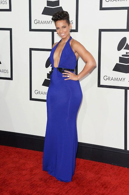 Alicia Keys at Grammy Awards 2014...