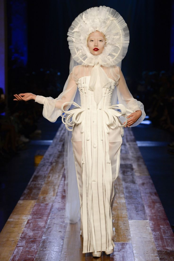 Stunning, Outstanding Collection - Part Wood Nymph, part Warrior, part Glamour girl... Jean Paul Gaultier Fall 2016 Couture Fashion Show