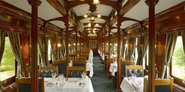 Danny and I want to take this train, the Rovos Rail, on the Garden Route, along the Cape south coast in Africa! So fun!