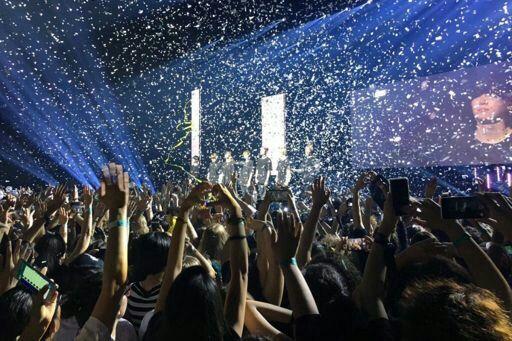 Show no Brasil