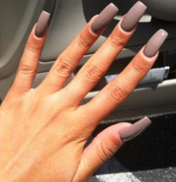 Long square nails | nails en 2019 | Uñas largas, Piel ...