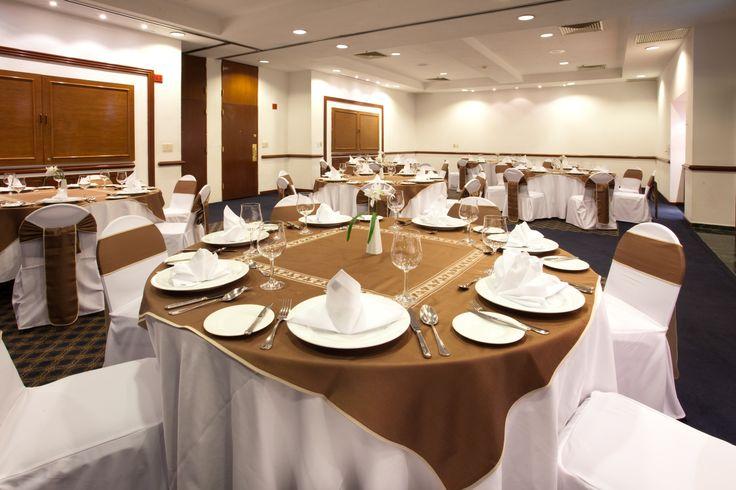Salón Montaje Banquete Hottel Holiday Inn Puebla La Noria