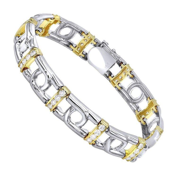 The 25 best Mens diamond bracelet ideas on Pinterest