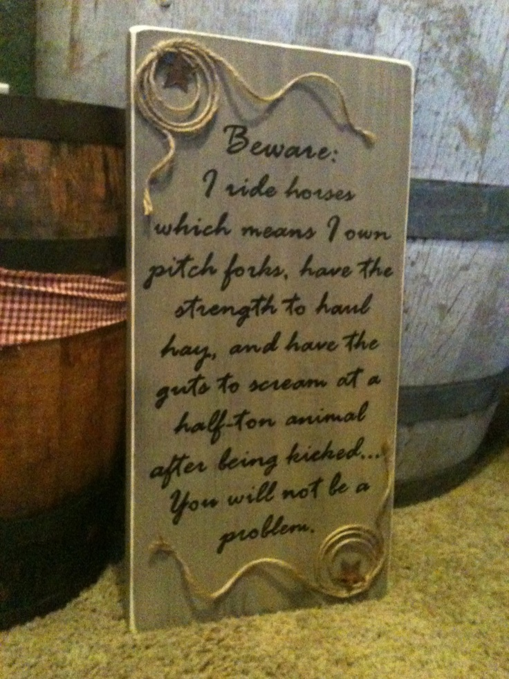 Rustic custom cowgirl home decor sign by hillbillychicdesigns, $35.00