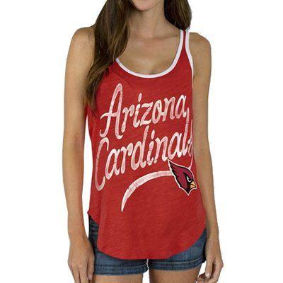 Arizona Cardinals Junk Food Women's Roster Ringer Tank Top – Cardinals. #NFLFanStyle #AZCardinals