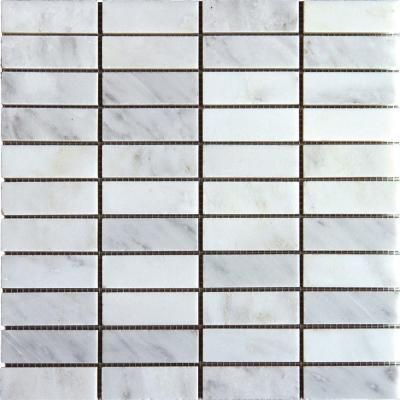Ms International Greecian White 12 In X 10 Mm Honed Marble