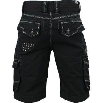 Affliction Liquid Sky Cargo Shorts - MMAWarehouse.com - MMA Shorts, MMA Gear, MMA Gloves, MMA Clothing