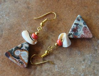 foto hand made jewels  Φωτεινή Μάμαλη: Χειροποίητα σκουλαρίκια με αυθεντικές πέτρες!