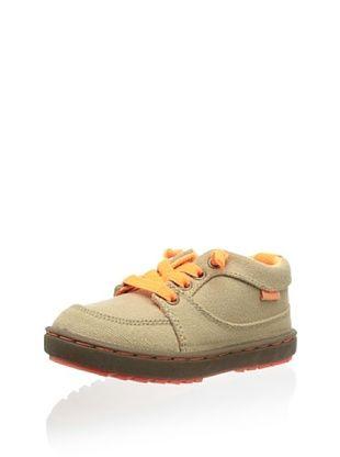 57% OFF OshKosh B'Gosh Thomas Lace-Up Sneaker (Toddler/Little Kid) (Khaki/Orange)